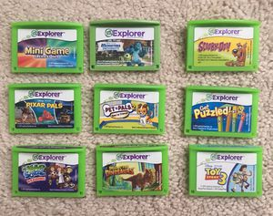 Leapfrog explorer games for Leap pad/Leap pad 2 for Sale in Columbia, PA