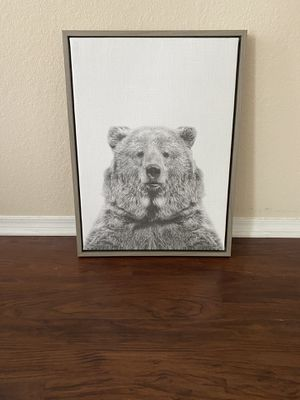 Framed bear art for Sale in Austin, TX