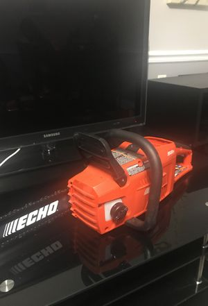 ECHO 16in Gas 2 Stroke Cycle Chainsaw (No Battery Pack) for Sale in Silver Spring, MD
