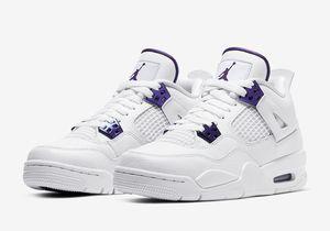 Jordan 4 Purple Metallic Size 7Y GS | 8.5W IN HAND 5/29 for Sale in Industry, CA