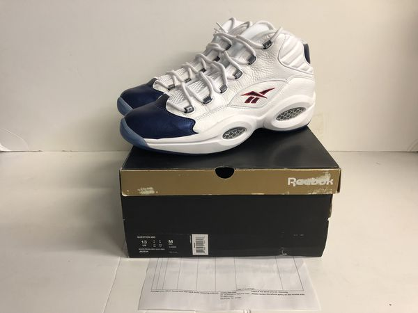 Reebok question 2012 size 13