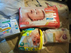 Diapers and formula for Sale in undefined