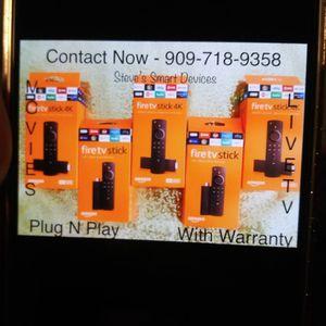 Fire Tv Stick 4k Jailbroken for Sale in Riverside, CA