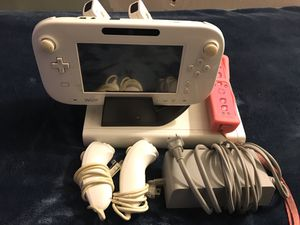 WII U System and game and controllers for Sale in The Bronx, NY