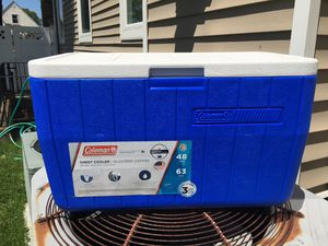 Coleman 48 quart cooler.. not used for Sale in Floral Park, NY