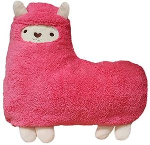 Alpaca plush pillow, pink llama stuffed animal, washable cover. for Sale in Las Vegas, NV