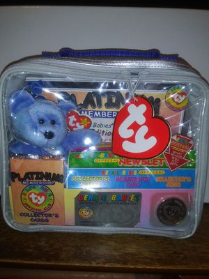 ty beanie babies ( official club) for Sale in San Antonio, TX