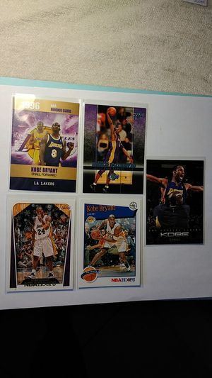 Kobe Bryant 1996 Rookie Phenoms ,Rookie Exclusive &Hoops Tribute lot 5 for Sale in Cape Coral, FL