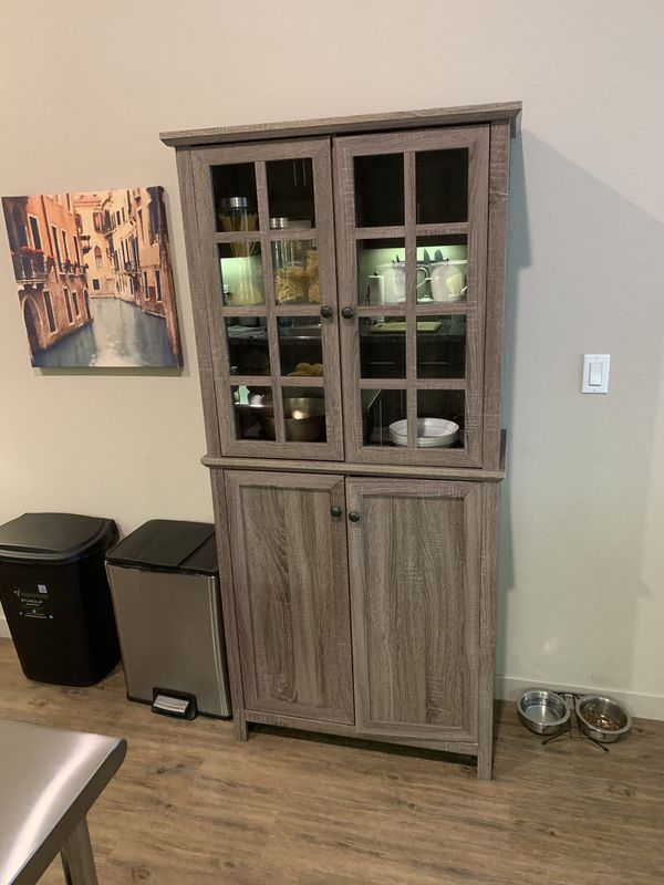 China cabinet + Kitchen table ($120 for both)