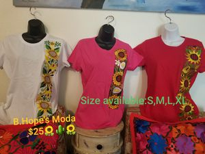 PLAYERAS BORDADAS. 100%MEXICANAS. No delivery. Price firm for Sale in Delano, CA