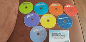 Fast and the furious 8 DVD box set collection for Sale in Moreno Valley, CA