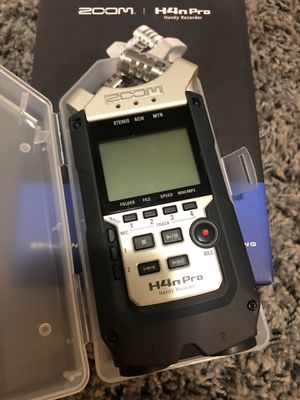 Zoom H4N Pro audio recorder for Sale in Hialeah, FL