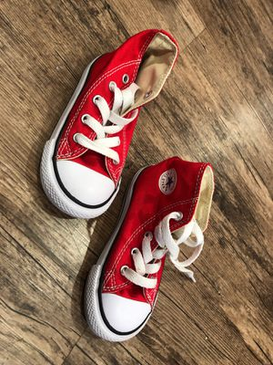 Converse All-Stars Red Size 7 in Toddler for Sale in Los Angeles, CA