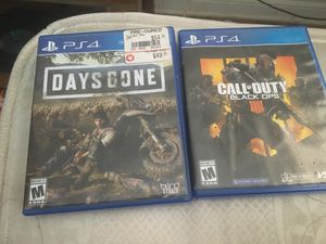Days gone and BO4 for Sale in Chico, CA