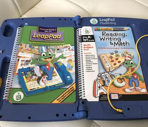 Leap Frog LeapPad Plus Writing System with 2 books for Sale in Las Vegas, NV