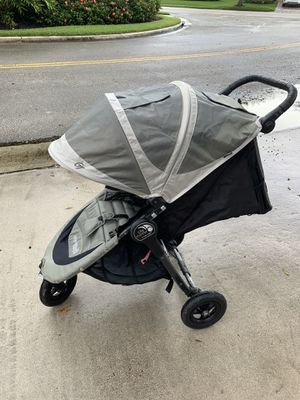 Baby Jogger City Mini GT Stroller - 2016 | Baby Stroller with All-Terrain Tires | Quick Fold Light for Sale in North Miami Beach, FL