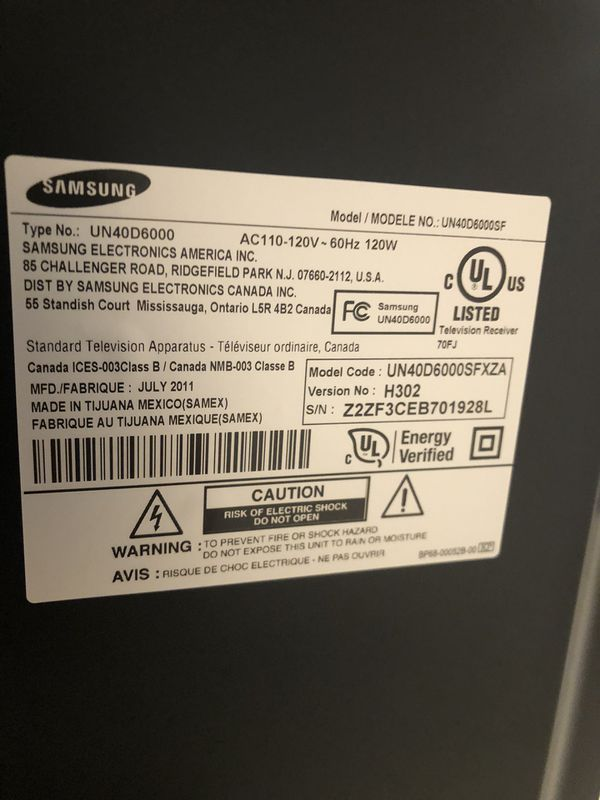 "Samsung LED 40"""
