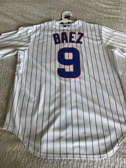 Chicago Cubs Javier Baez Jersey-MENS LARGE for Sale in Houston,  TX