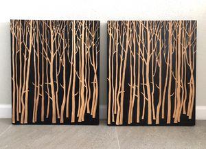 Winter Birch Engraved Artworks for Sale in Phoenix, AZ