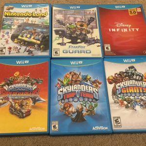 6 lot of Nintendo Wii U games Mint condition for Sale in Napa, CA