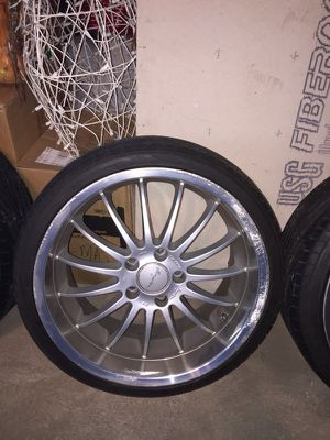 BMW authentic Breyton wheels with Goodyear Eagle F1 tires for Sale, used for sale  Brooklyn, NY