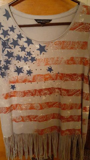4th of July Fringe T-Shirt for Sale in Menifee, CA
