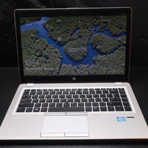 HP EliteBook Folio 9470m 8 GB RAM/ 680 GB SSD Windows 10 Pro for Sale in Rancho Cordova, CA