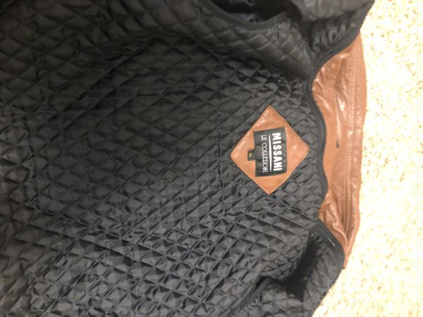Missani Le Collezioni Leather Jacket