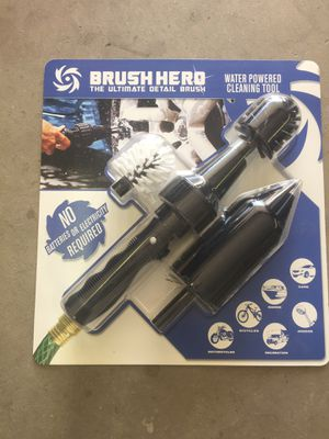 Brush hero powered car cleaner RV MOTORCYCLE BOAT for Sale in Glendale, AZ