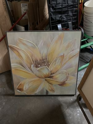 Lotus flower picture for Sale in Fountain Valley, CA