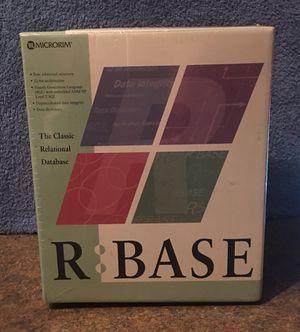 MICRORIM R:Base Relational Database Software - NIB for Sale in Fox Lake, IL