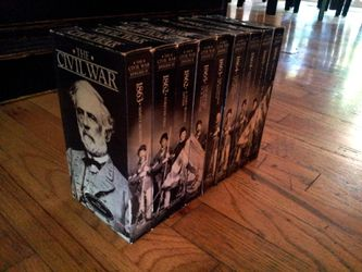 Civil War 9 VHS Tape Series for Sale in Lake Grove,  OR
