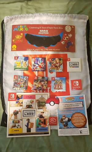 Rare Nintendo San Diego Comic Con collectibles for Sale in San Diego, CA