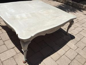 50x50 wood coffee table for Sale in Lake Worth, FL