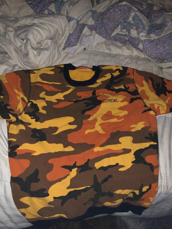 Supreme Camo Shirt
