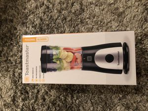 Toastmaster personal blender black 15 Oz capacity new in box home appliance kitchen household for Sale in Chula Vista, CA