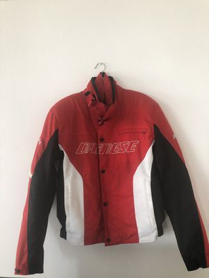 thermal jacket, detachable internal motorcycle vest, arm and elbow protectors. as new for Sale in Miami Beach, FL