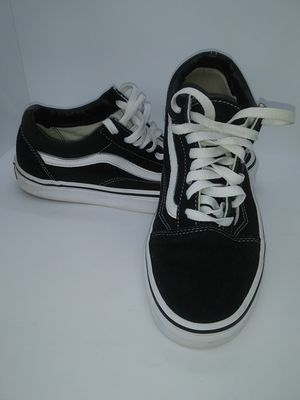 VANS, Off the Wall, Old Skool Mens7.5, Women 9 VERY GOOD CONDITION for Sale in Hull, GA