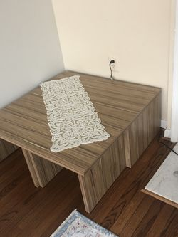 New like tv stand and coffe table for Sale in McLean,  VA