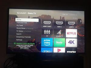 """Sharp 50"""" 4k smart tv $350 for Sale in Fort Washington, MD"""