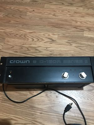 CROWN AMP for Sale in Silver Spring, MD