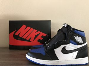 DS Jordan Retro 1 High OG Royal Toe for Sale in Jurupa Valley, CA