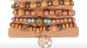 4pcs/set wooden beads bracelet women for Sale in Stoneham, MA
