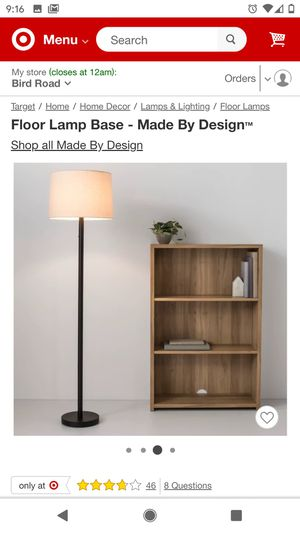 Floor lamp - brand new for Sale in Miami, FL