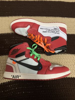 Off-White Air Jordan 1 Chicago size 11 for Sale in Chula Vista, CA
