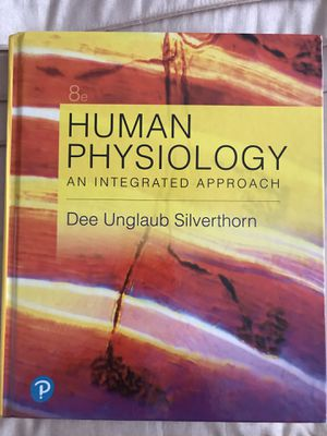 Human Physiology - An Integrated Approach 8th Edition for Sale in Burbank, CA