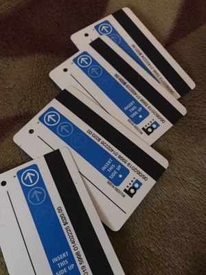 4 $20 Bay Area bart cards for Sale in Modesto, CA