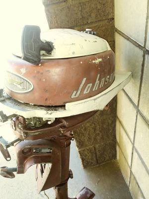 Rare 1957 johnson outboard motor for Sale in Hurst, TX
