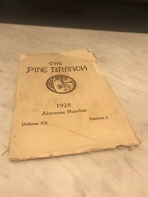 The Pine Branch 1928 Georgia State Womens College Valdosta State for Sale for sale  Atlanta, GA