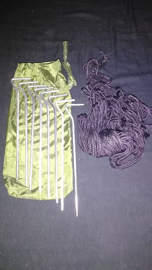 Camp Tent Stakes and Cords New for Sale in Tacoma, WA